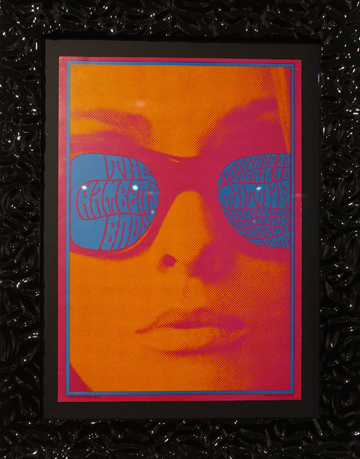 Artist: Victor Moscoso, 1967 The Matrix, San Francisco Band: The Chambers Brothers