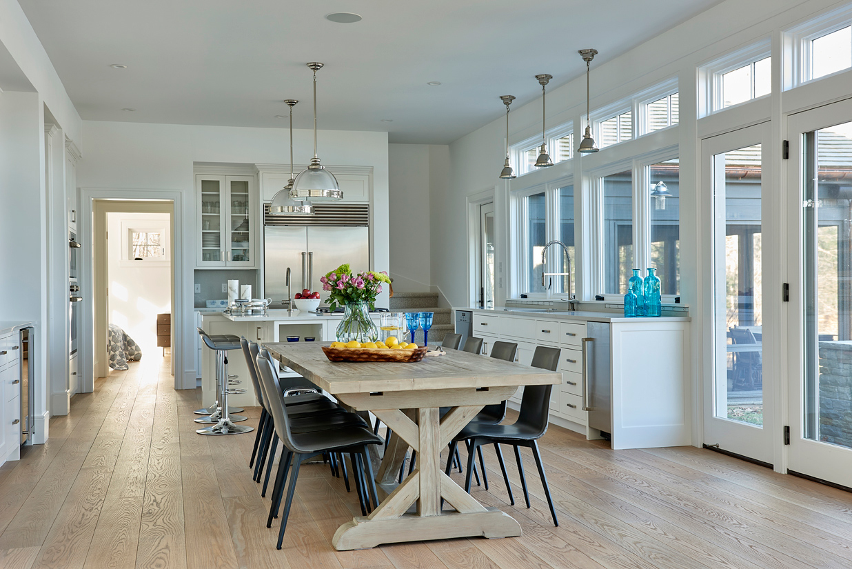 2-Connecticut-Counry-house-kitchen-dining by Kevin Wolfe Architect.jpg
