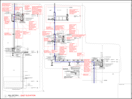 Document Peer Review - Our building envelope experts will work with you to review drawings and specifications to identify gaps in the design intent. We want to make sure all of the building envelope control layers are continuous and in the right place.