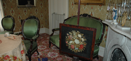 Care of textiles in the Historic House are demonstrated in the lecture.