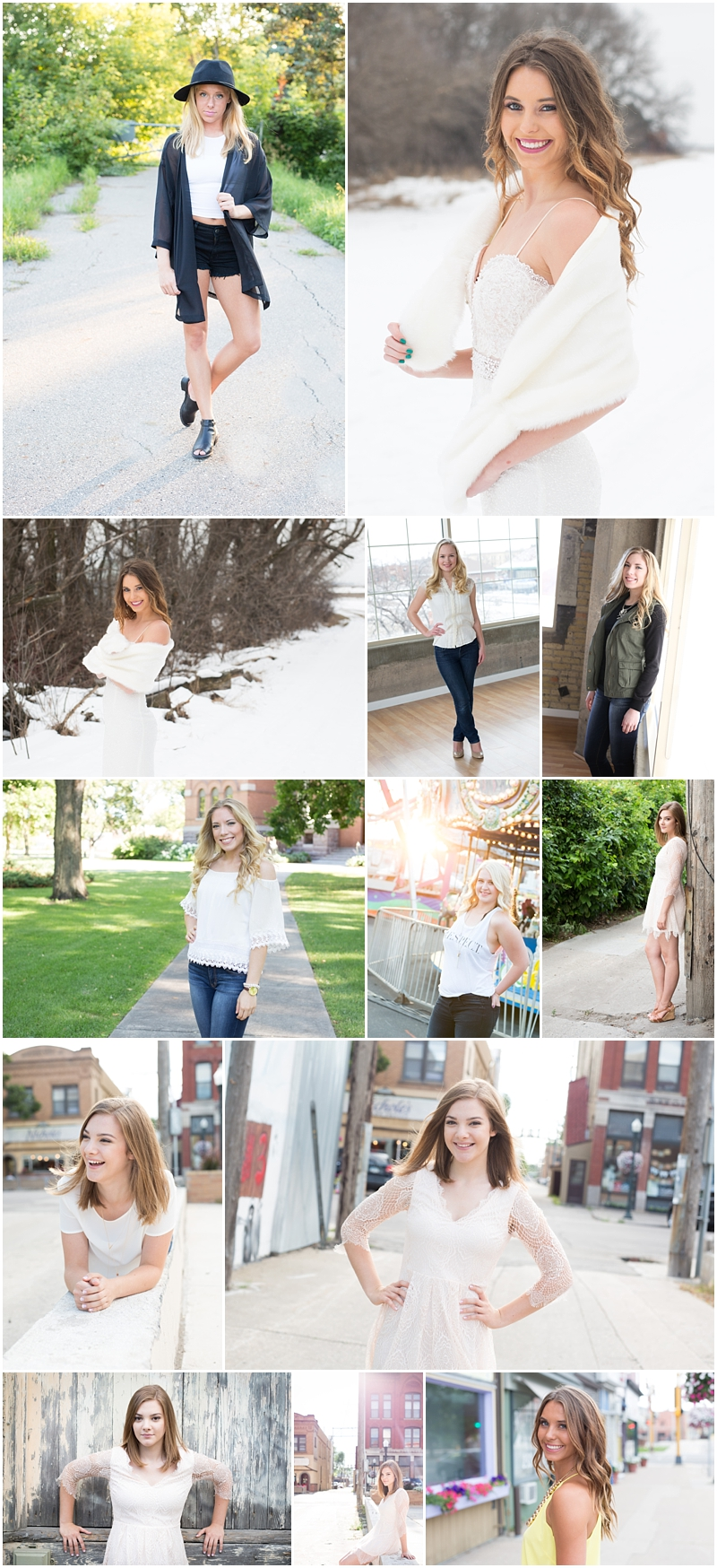 fargo senior photographer - caitlin killoran