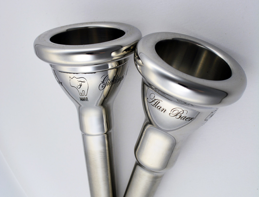 Giddings & Webster Alan Baer Orchestral MMVI C & F Tuba Signature Mouthpiece