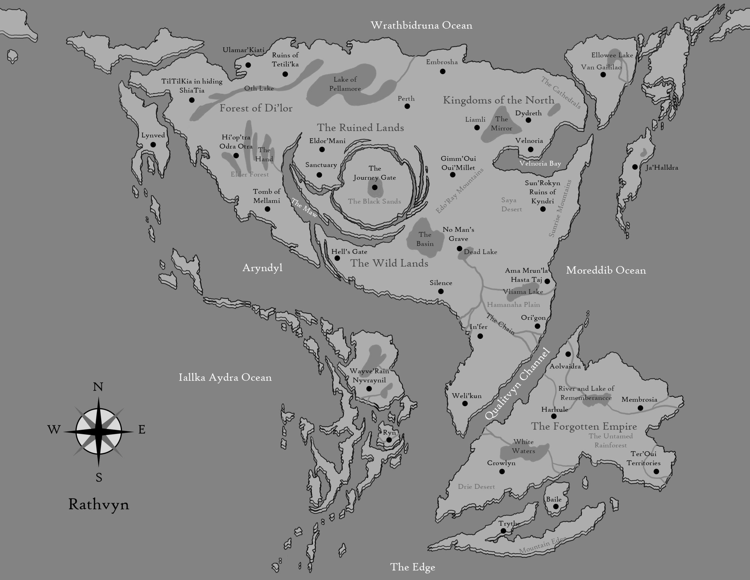 Rathvyn Map