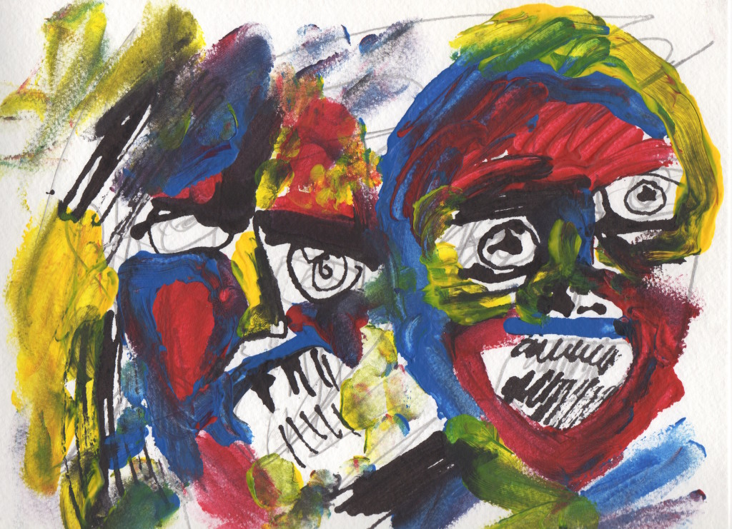 "BAD-HAHA-Acrylic-and-ink-on-paper-12""-x-9""-2014-1024x741.jpeg"