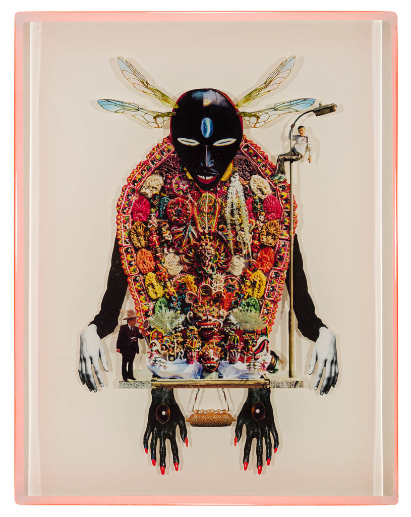 VooDoo Chile, Collage layered in resin on mdf, 2014, 14%22 x 18%22.jpg