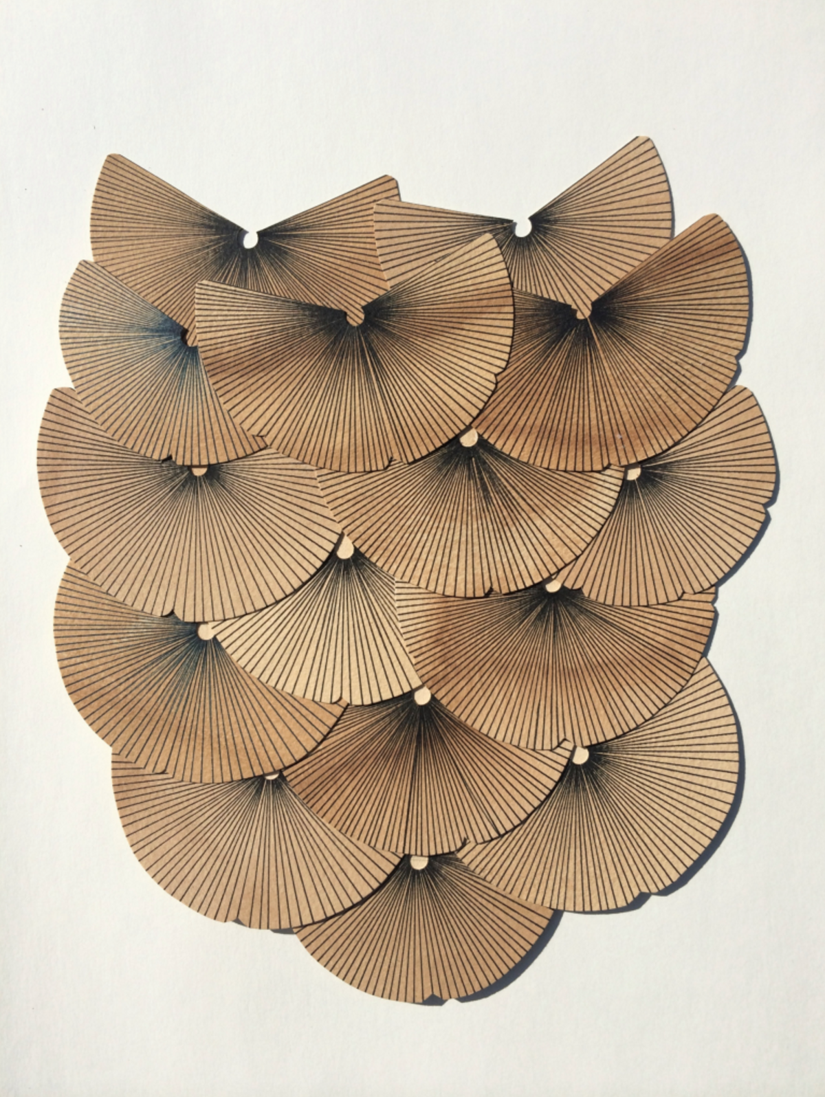 Kelly Ording, Moths (Three), 2014, Ink on Dyed Paper Collage, 8 x 10.png