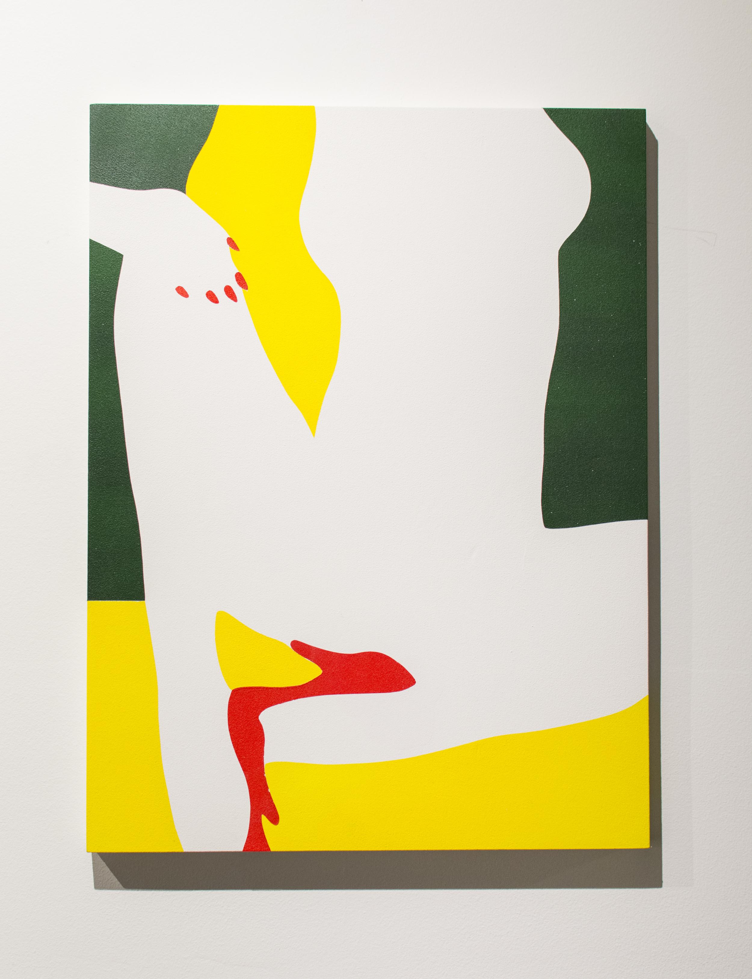 "Dave Singley, ""Italian Mantra""  2016. Acrylic on panel. 18 x 24 in."