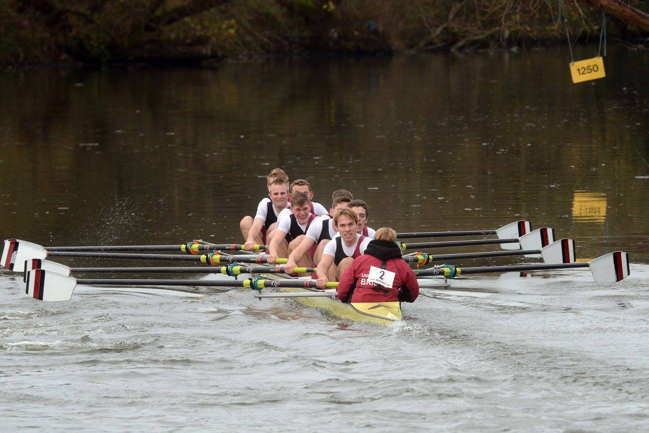 UBBC Men's 1st 8, winners of Men's Championship Eights by 28 seconds