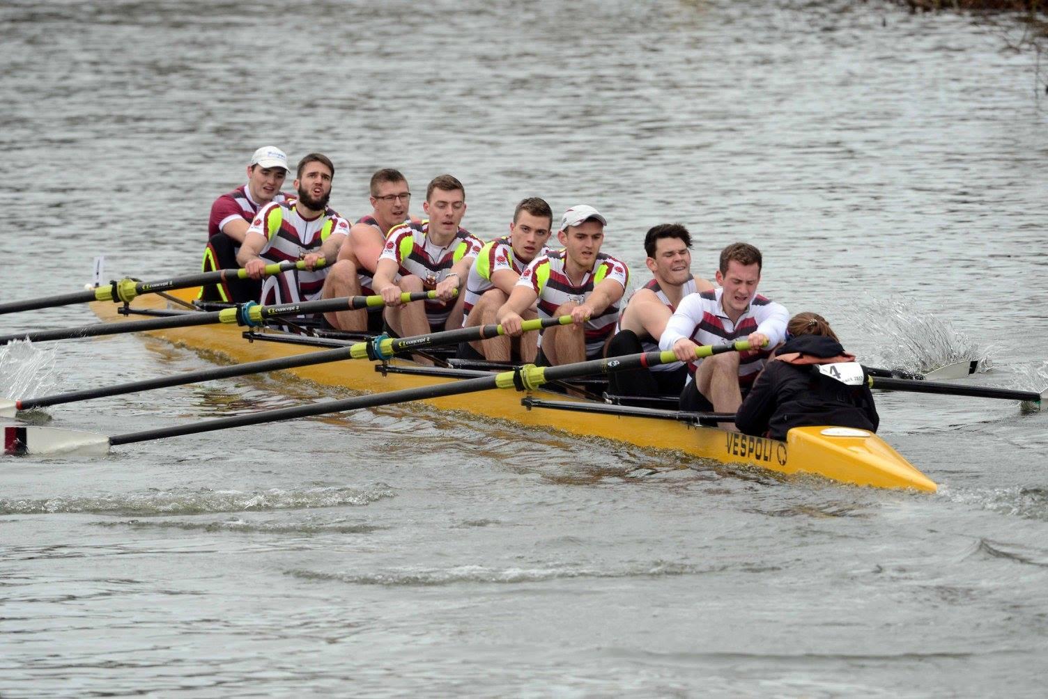 Nonesuch Men's 1st 8, fastest Alumni crew