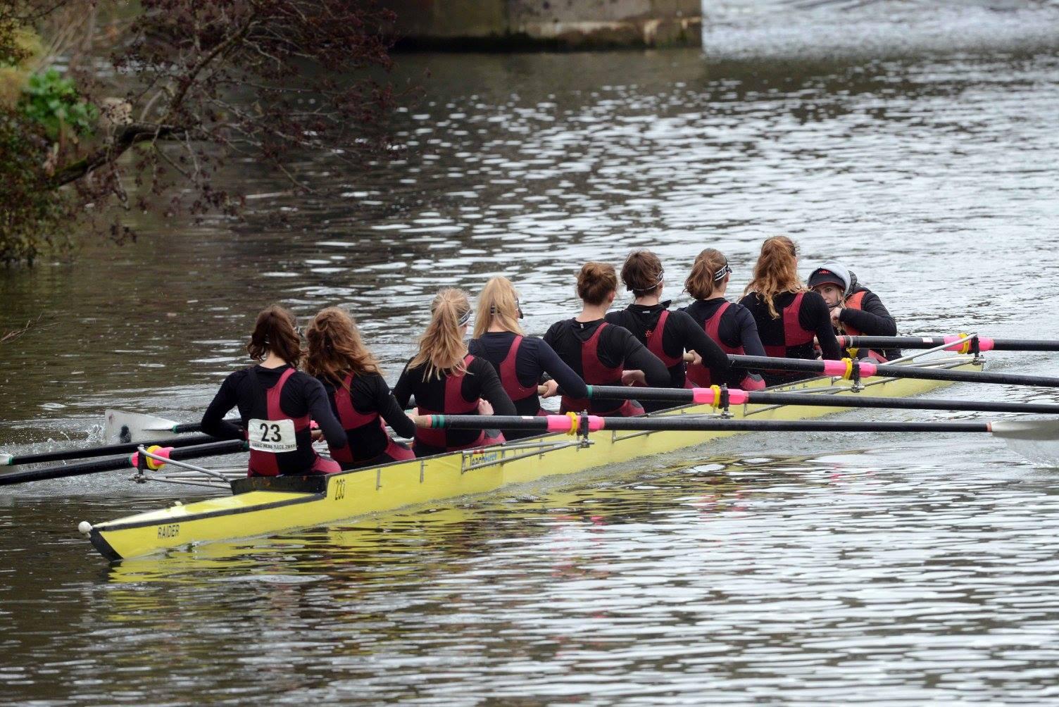 Nonesuch Women's 8, fastest Women's Alumni crew