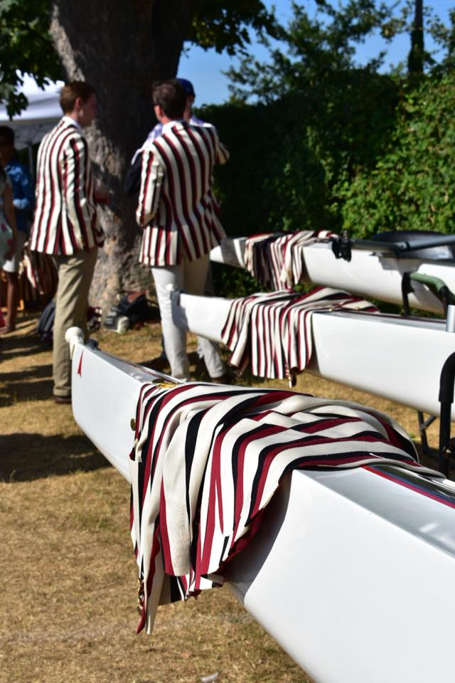 Three new boats bought for UBBC by the UBBC Alumni in 2018