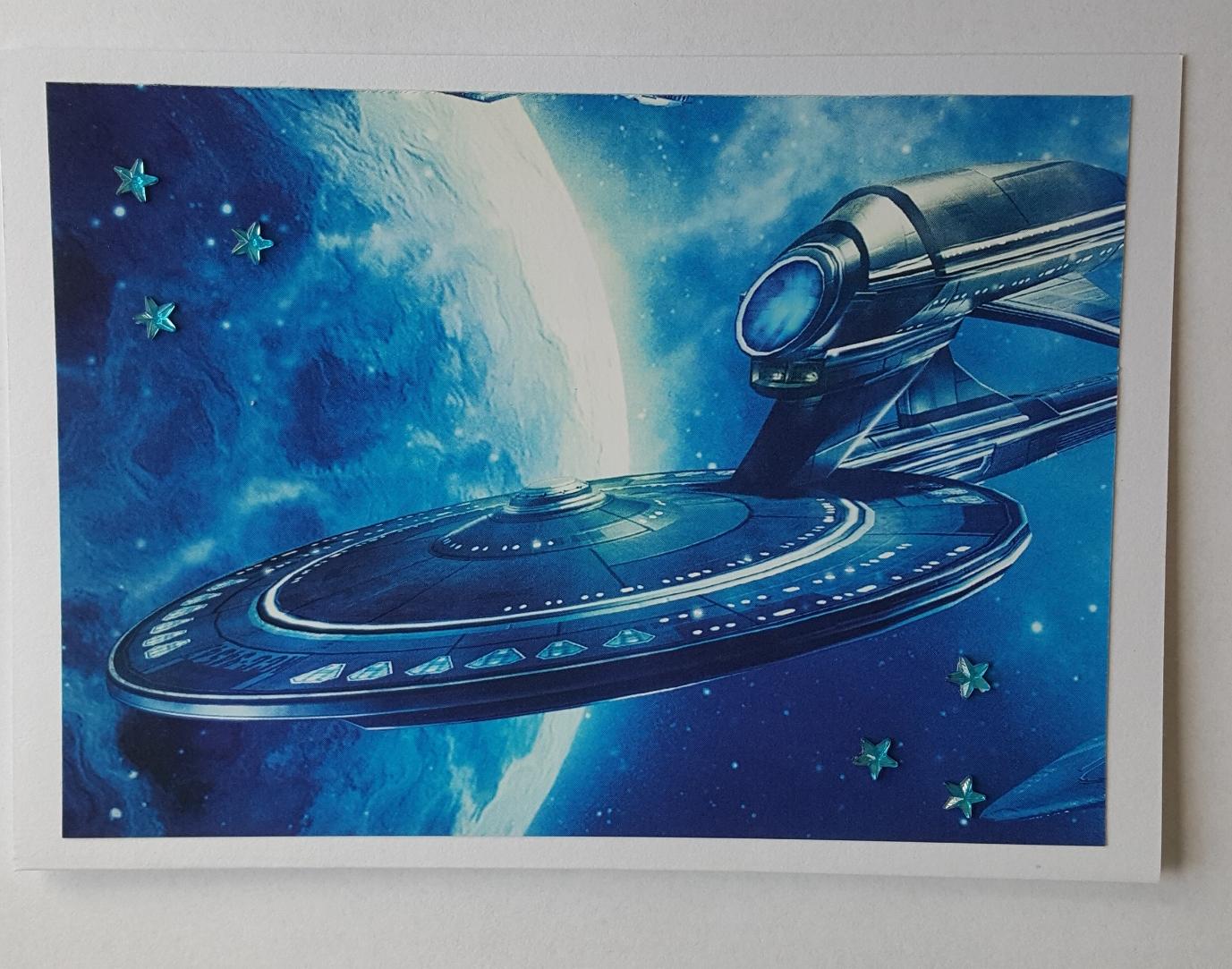 Star Treck inspired card