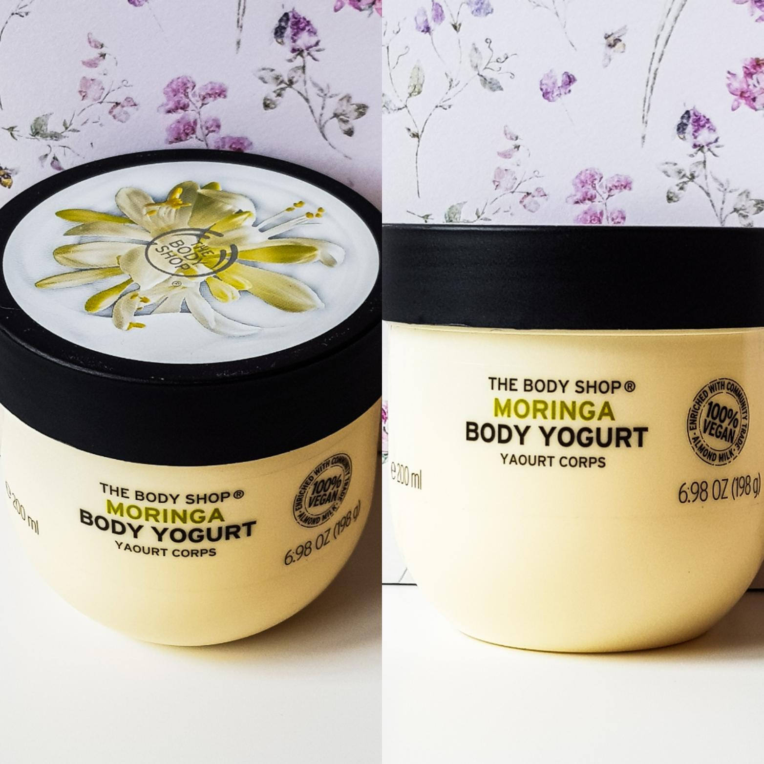 Moringa body yogurt