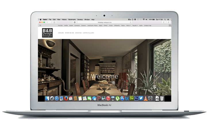 This is an image of our website design service for B&B Bologna