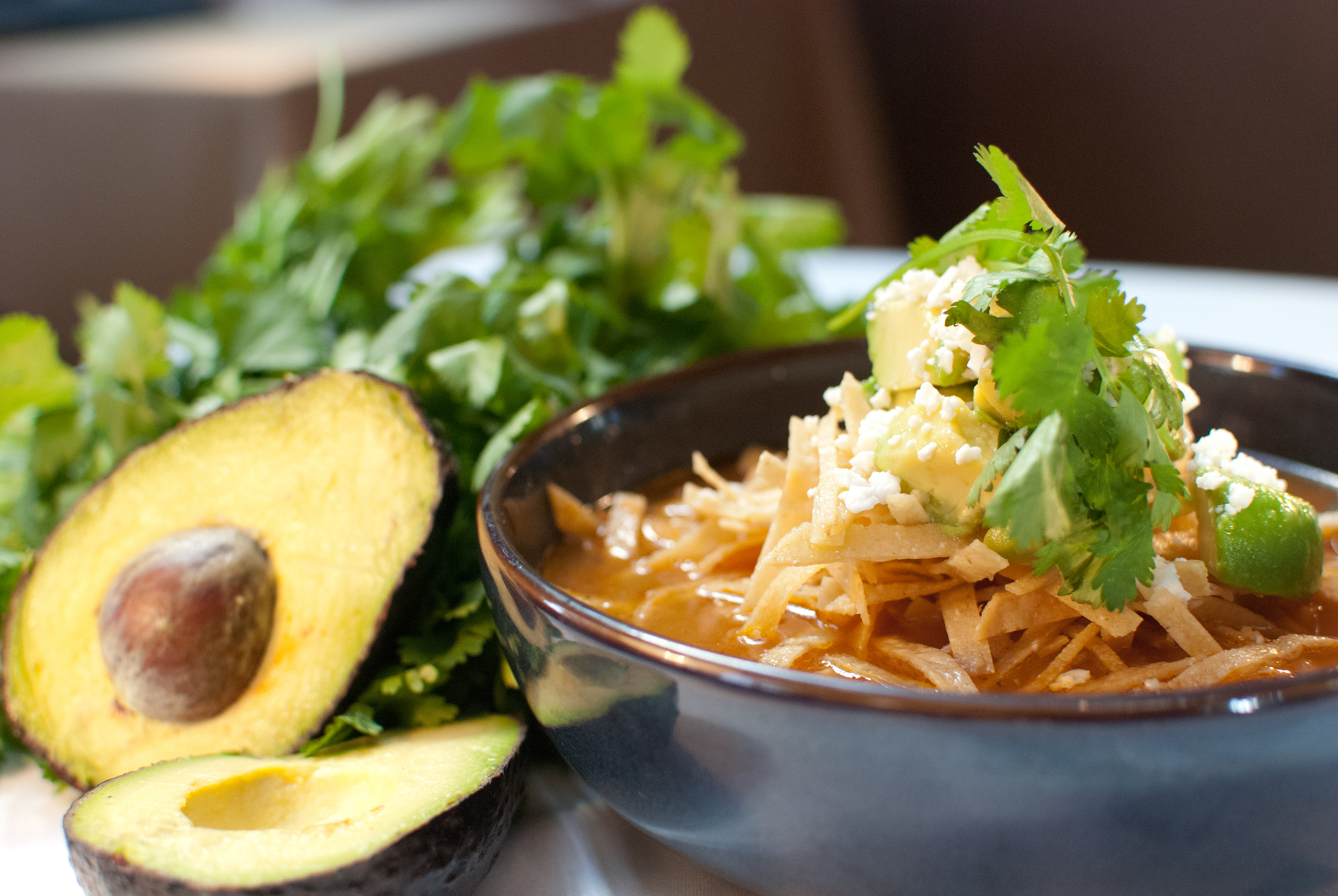 Sierra Bonita Grill's Azteca Soup, Photo by Alisa Shelton.jpg
