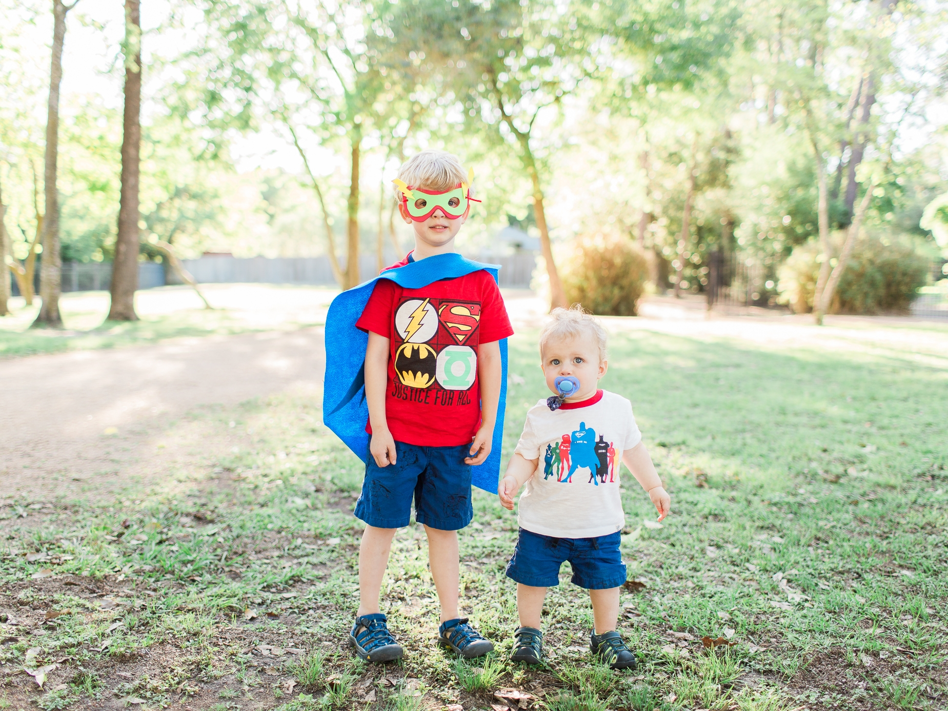 """My """"Super Boys"""" ensemble can be found  here , cuteness sold separately."""