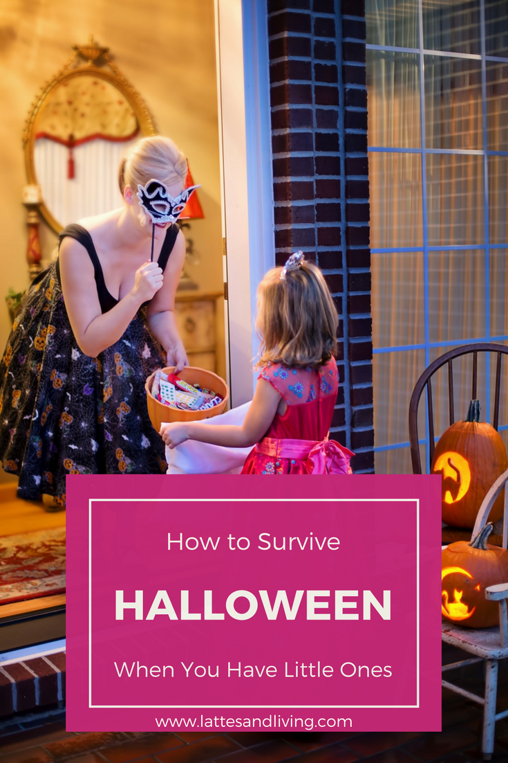 Happy Halloween - the joy of living little, How to survive Halloween with little kids.