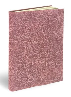 Fiori Suede Notebook (in Millenial Pink), by Epica