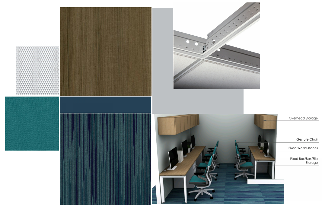 New interior finishes