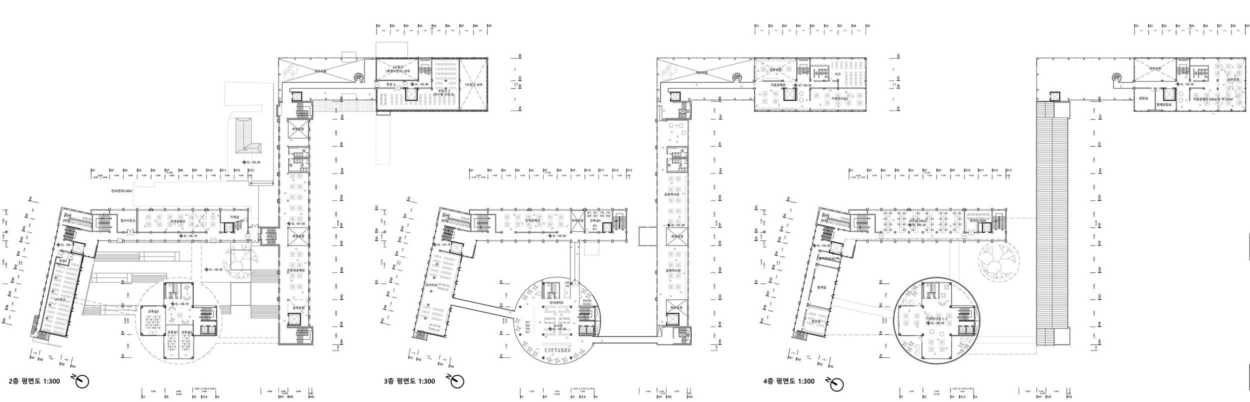 2F-4F FLOOR PLAN