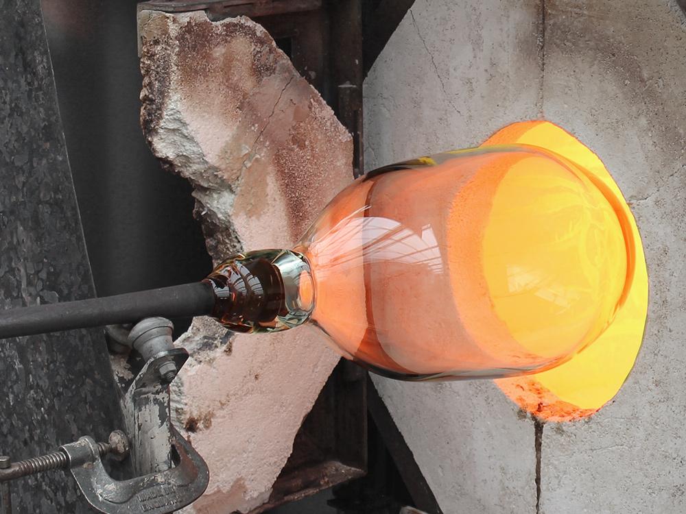 Michael Ruh bespoke glass ice bucket
