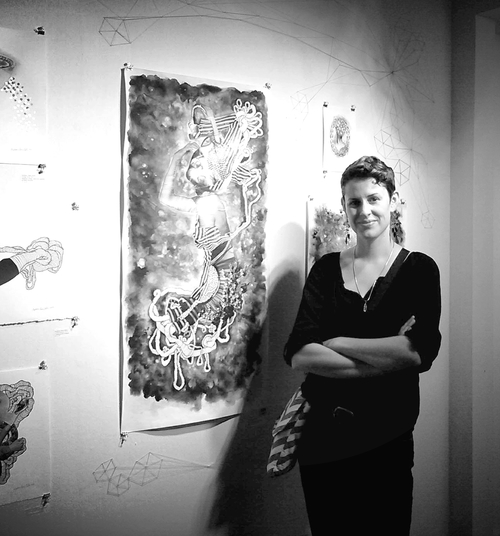 Solo exhibit at Naming Gallery, Oakland, CA, 2013