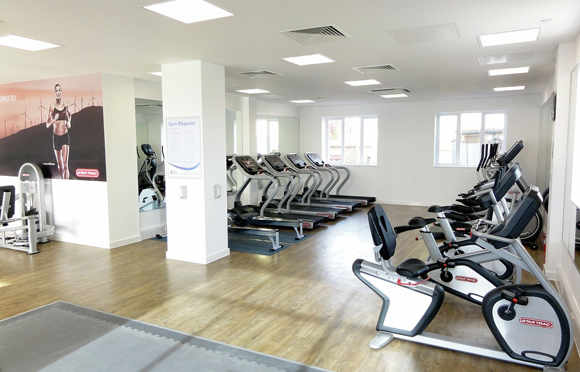 Residents' gym and trim trail
