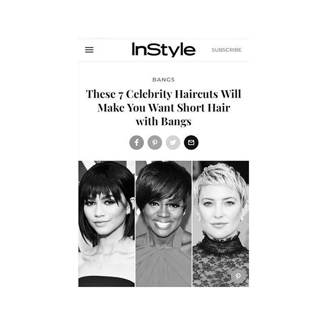 B A N G  B A N G  #sundaystyle #tips from @antonioprietosalon @hairbyjasonlinkow on #instylemagazine #linkinbio 💇🏻♀️