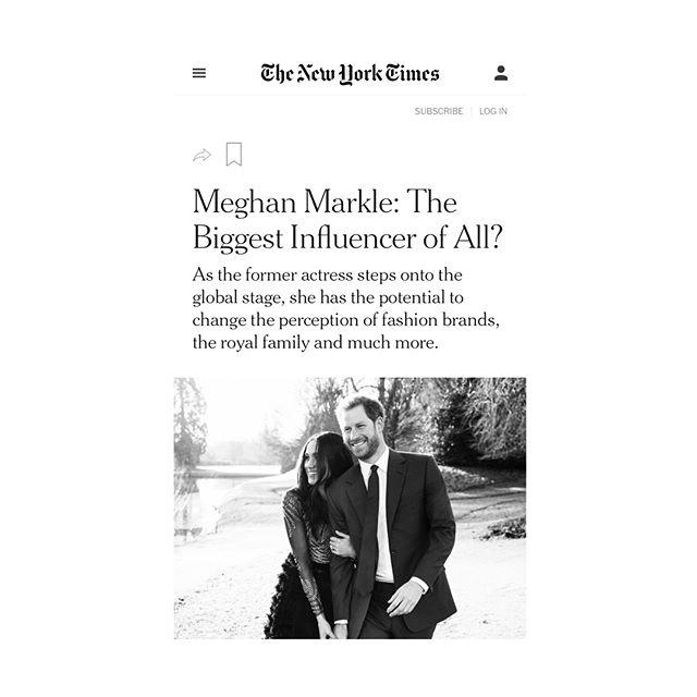 M E G H A N ❤️ M O T H E R  #mother featured in #nytimes #thursday #styles on #meghanmarkle #swipe⬅️ #linkinbio