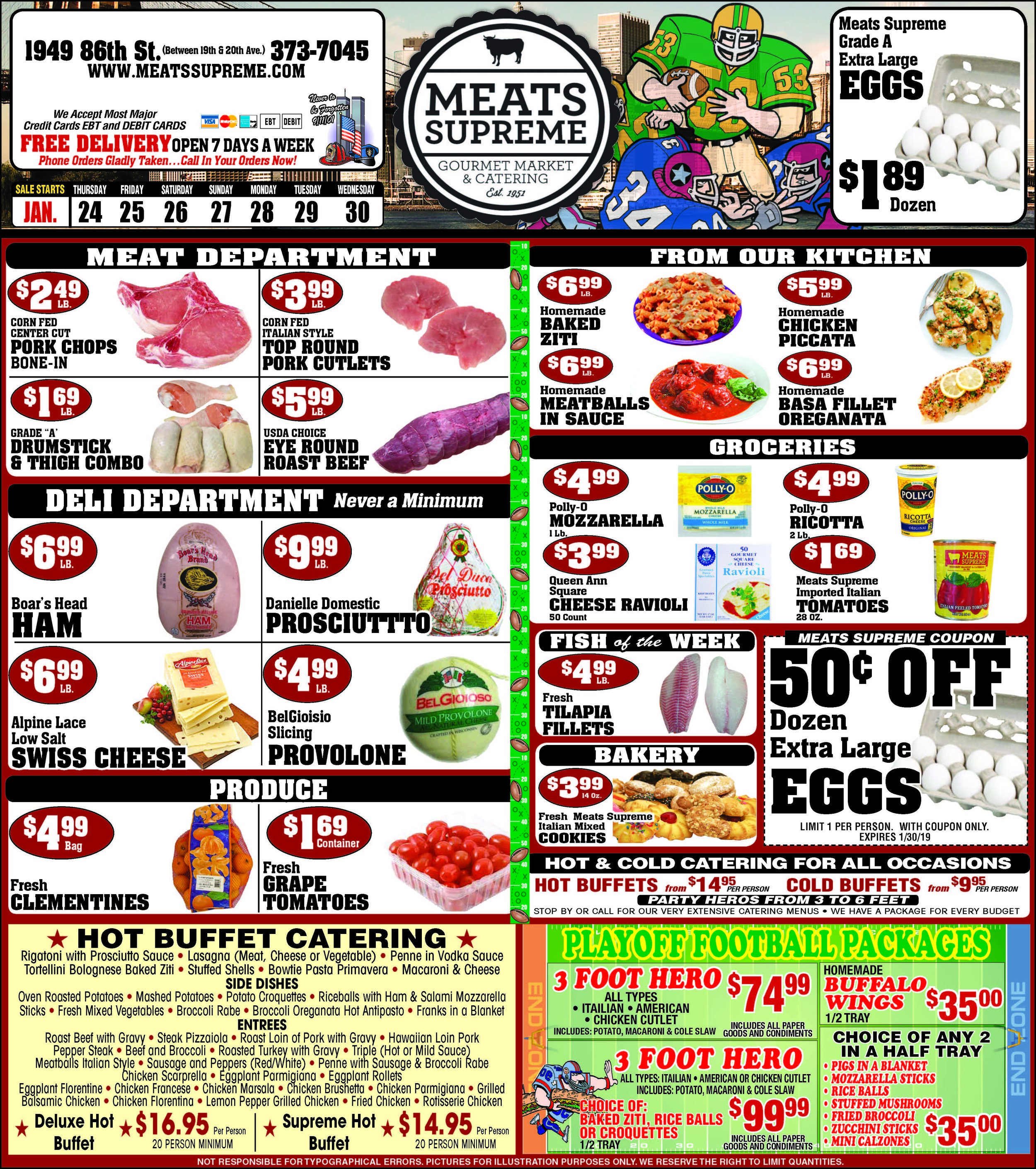 Weekly Sales - New promotions every week! Packed with savings on items in every department.