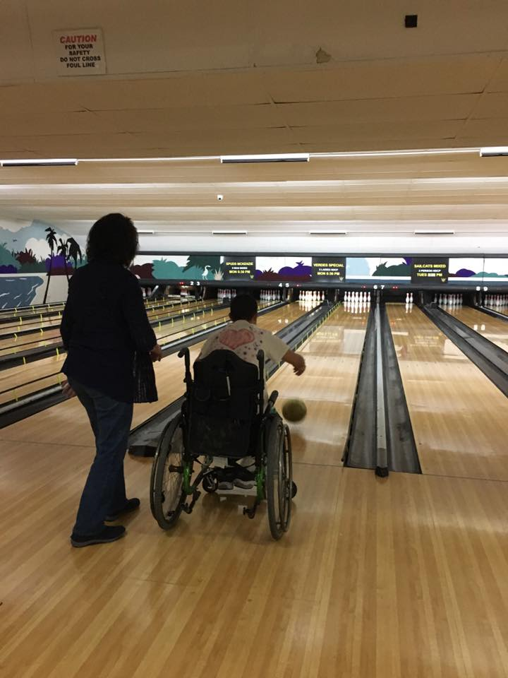 Our Amigos love to go bowling! -