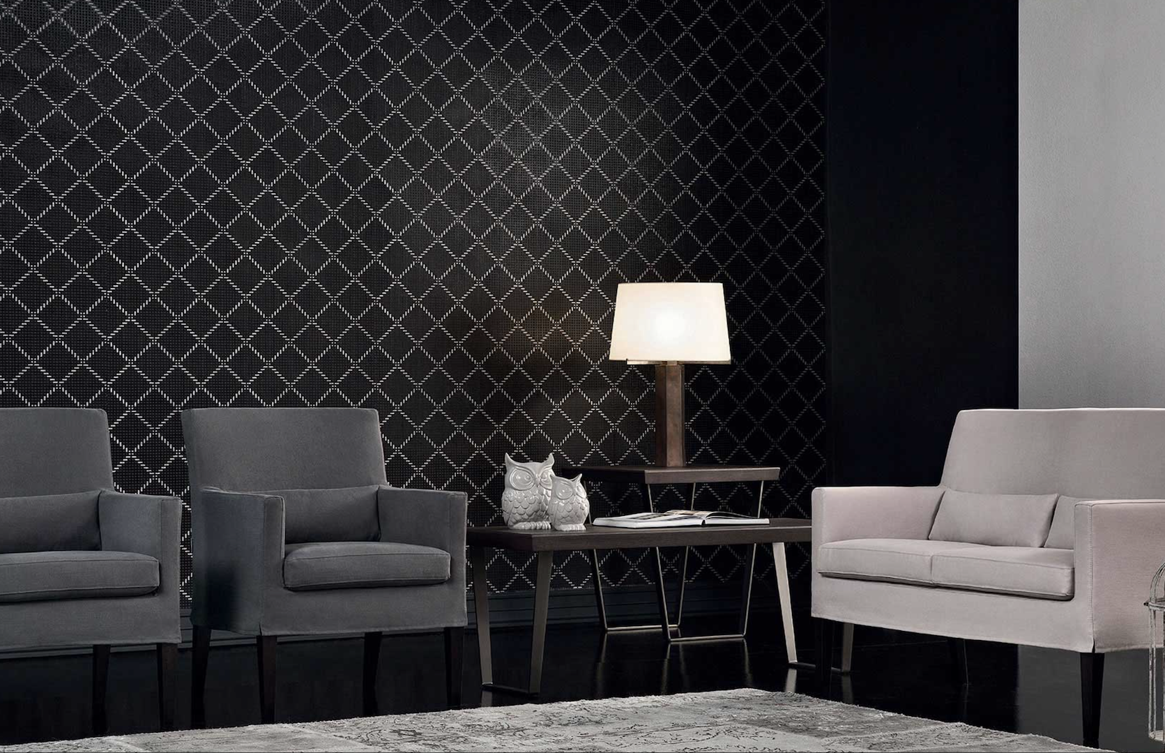 AMC 125 Italian Designer Lounge chairs