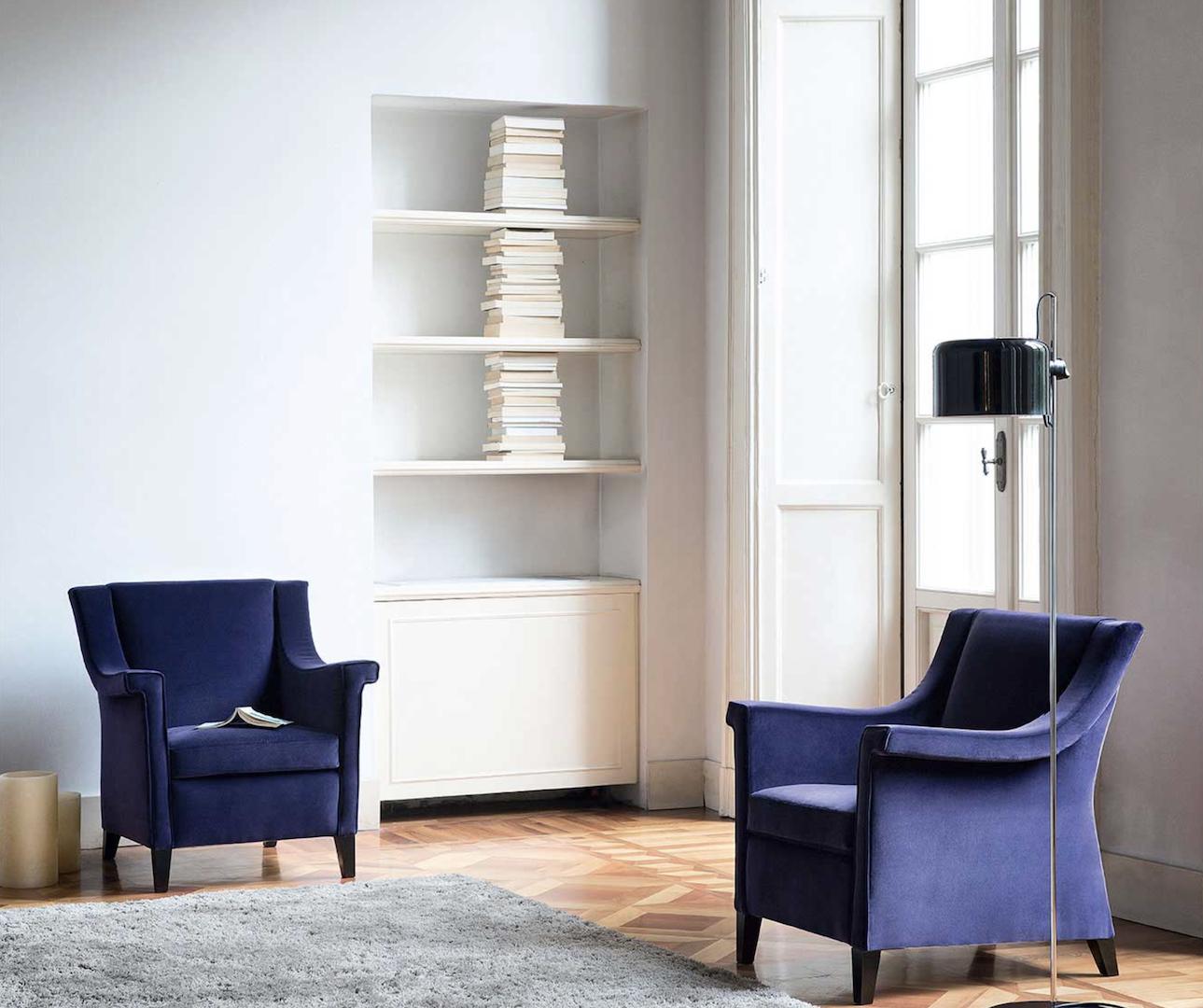 AMC 117 Italian Designer Lounge Chairs