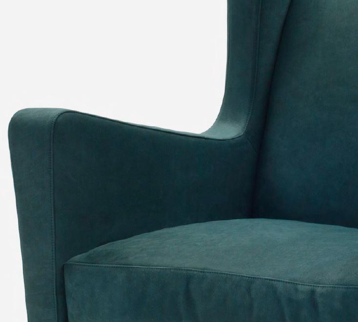 AMC 126 Italian Designer Lounge Chair detail