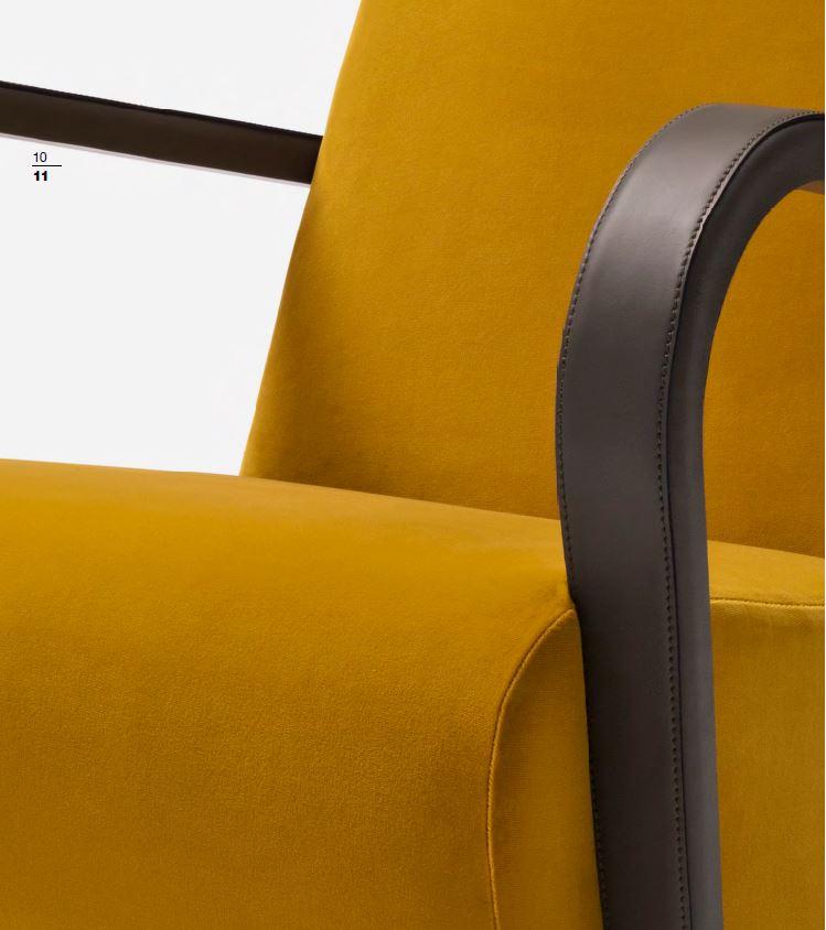 AMC 108 Italian Designer Lounge Chair detail