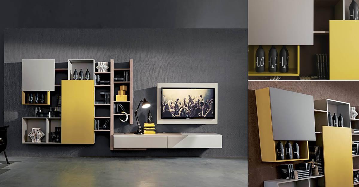 WU 125 Modern Wall Units