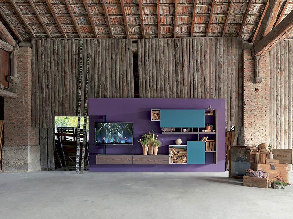 WU 126 Modern Wall Units