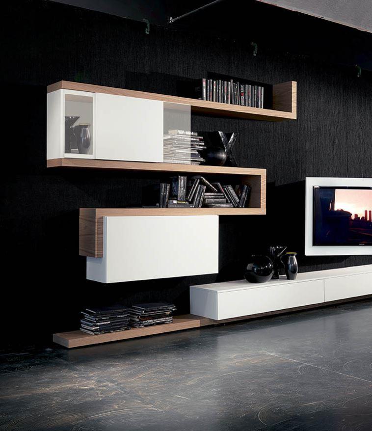WU 129 Modern Wall Units