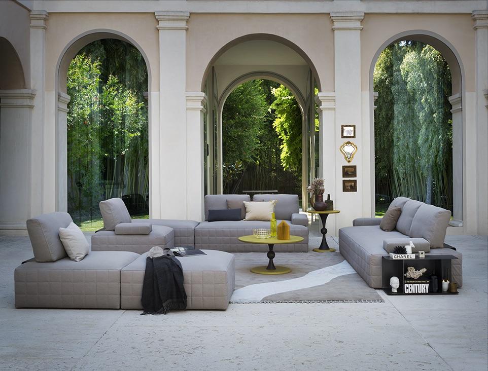 SCT 316 Italian Modern Sectional Sofa