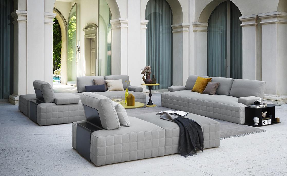 SCT 316 Italian Sectional Sofa