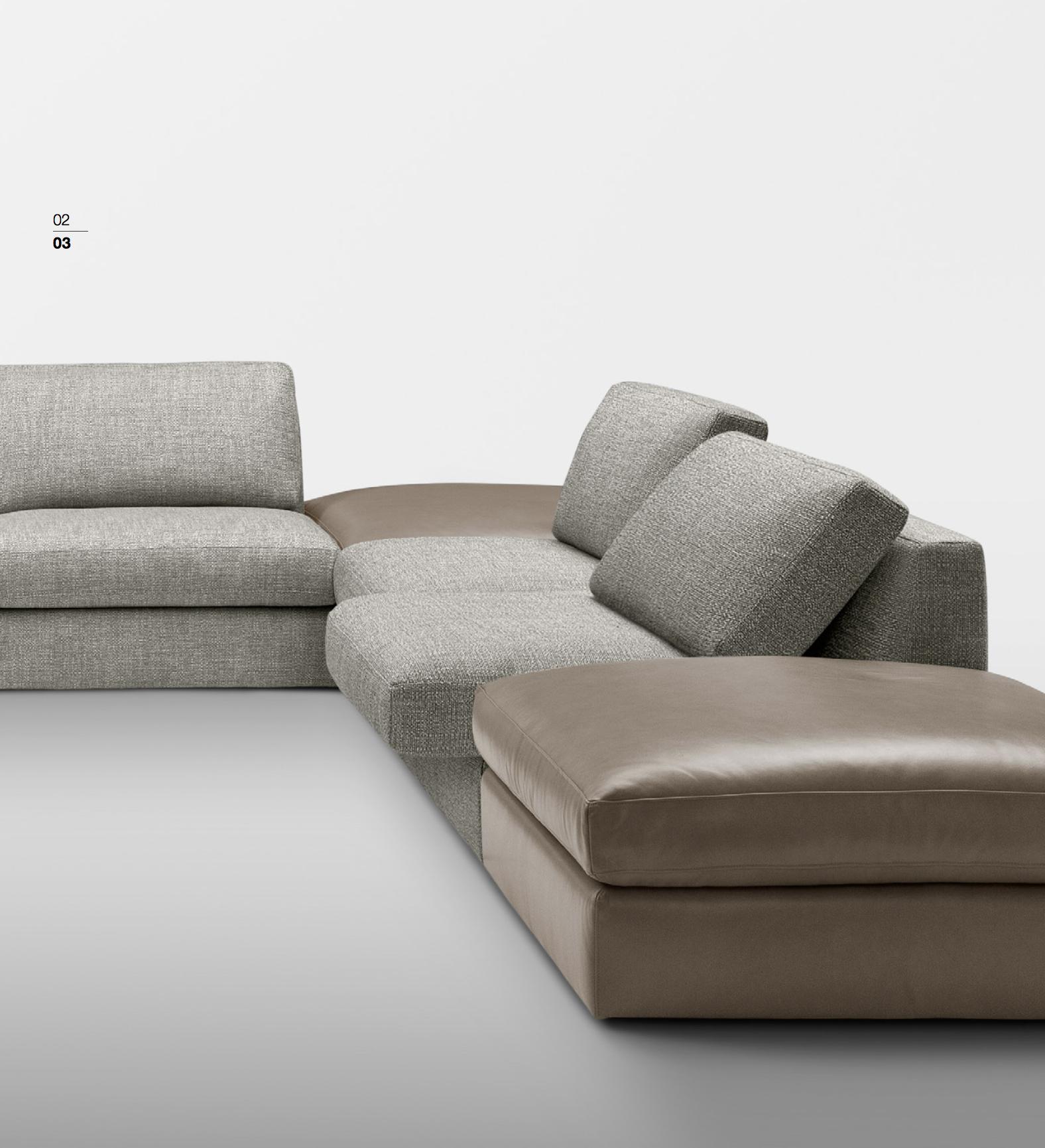SCT 301 Italian Sectional Sofas