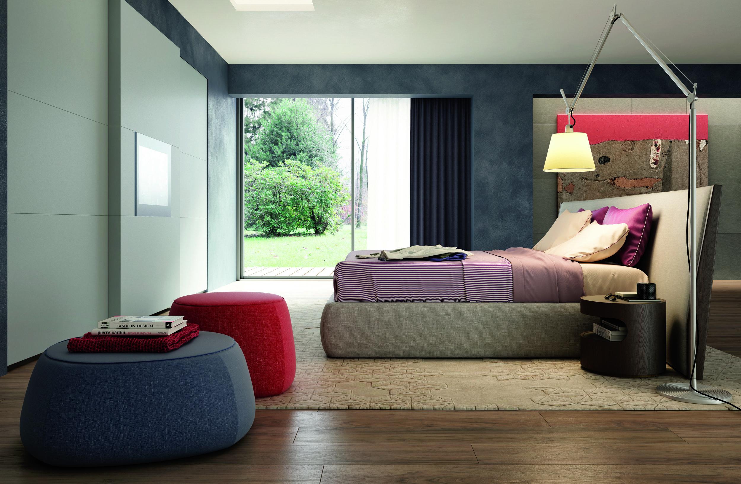 BDR 202 LH Modern Italian Beds