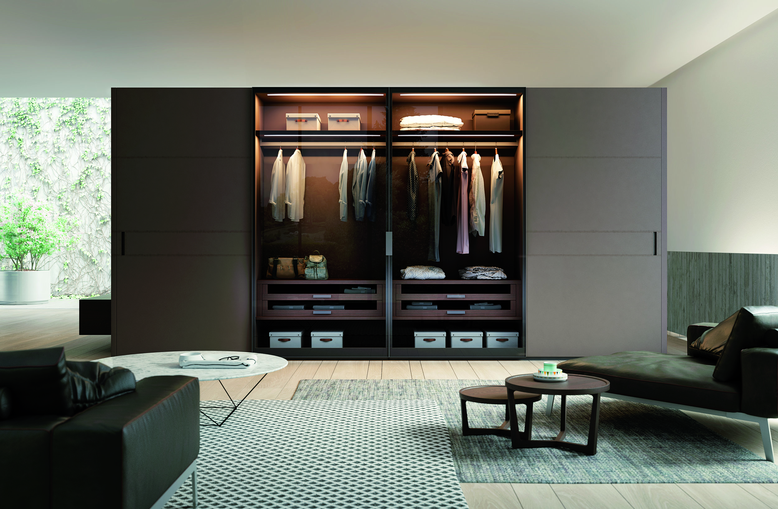 BDR 243 Modern Italian Wardrobes