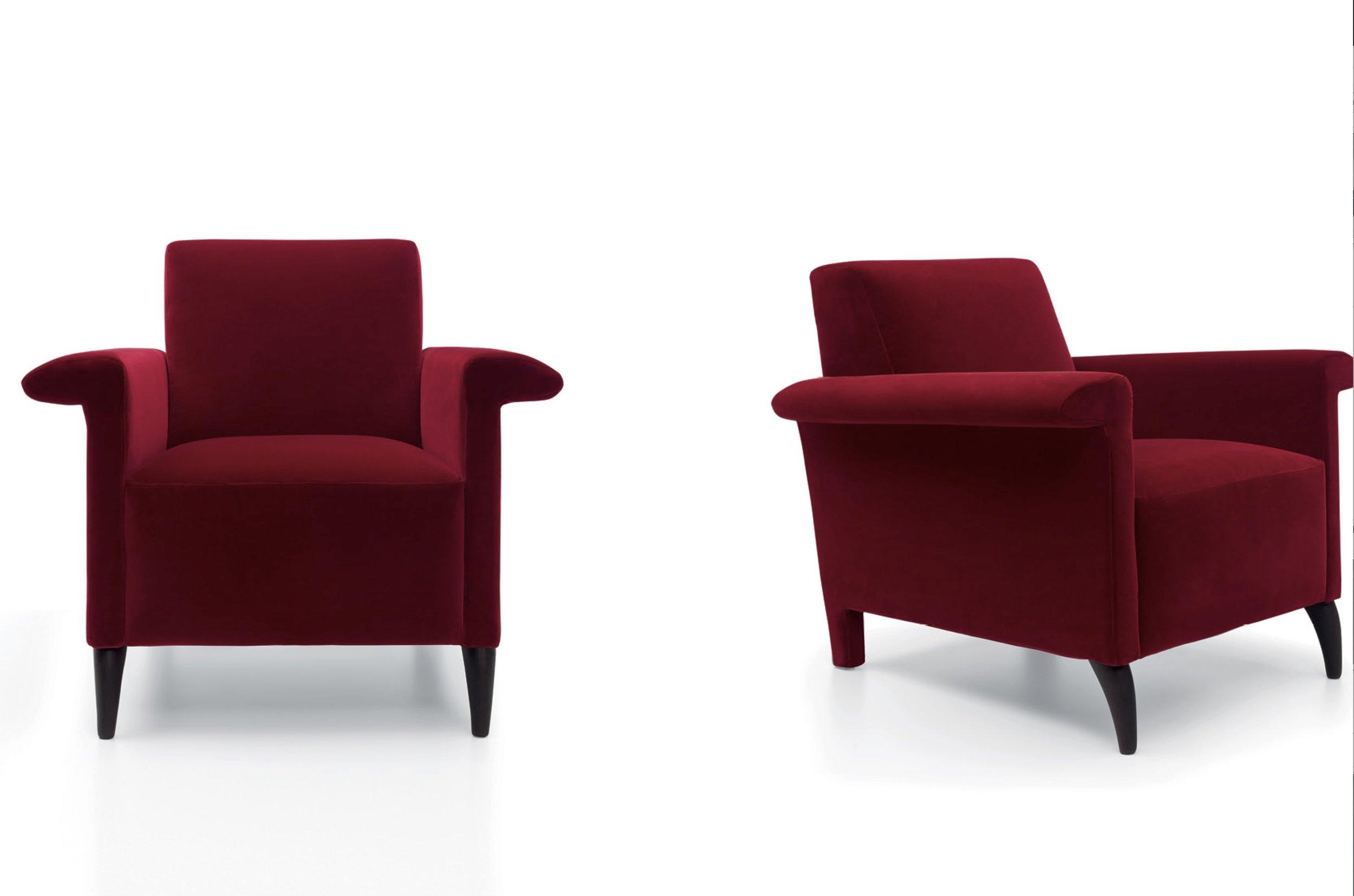 AMC 107 Italian Designer Lounge Chair