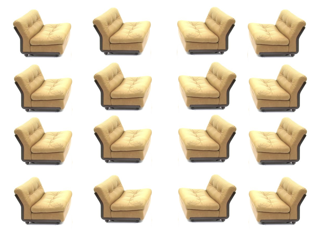 Mario Bellini 'Amanta' Lounge Chairs, B&B Italia