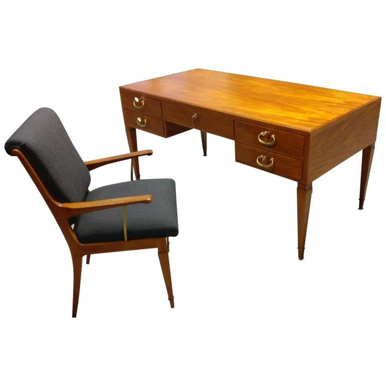 Italian Mid Century Desk by Issel