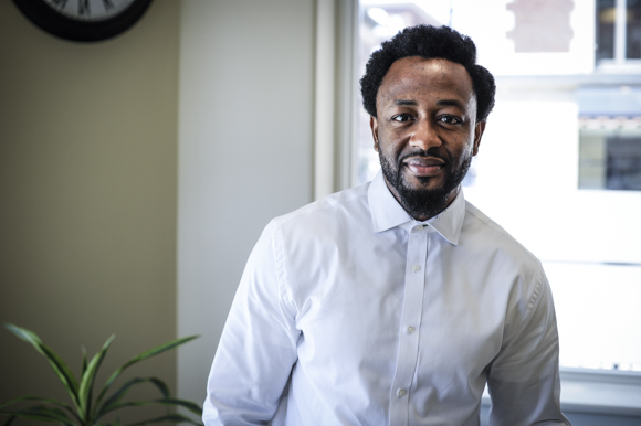 Attah Obande  (photo originally from Rapid Growth Media)