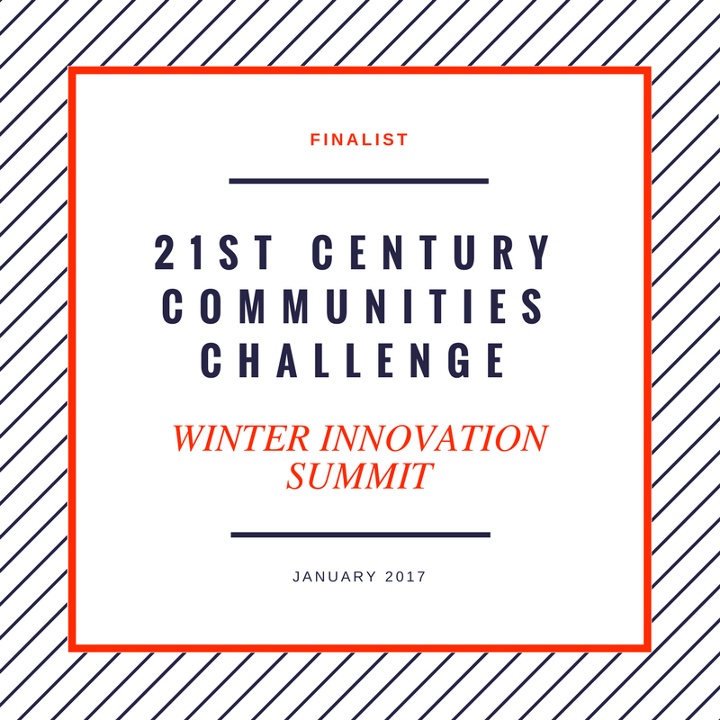 Insightformation was a finalist in the 21st Century Communities Challenge for U.S. mayors.
