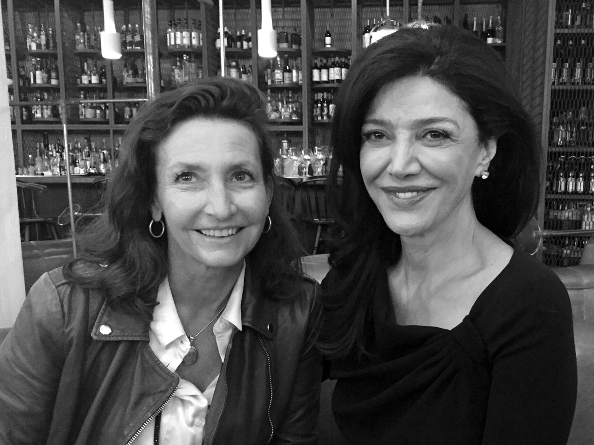 Mariam and Shohreh Aghdashloo at the Toronto International Film Festival,September 12,2016.