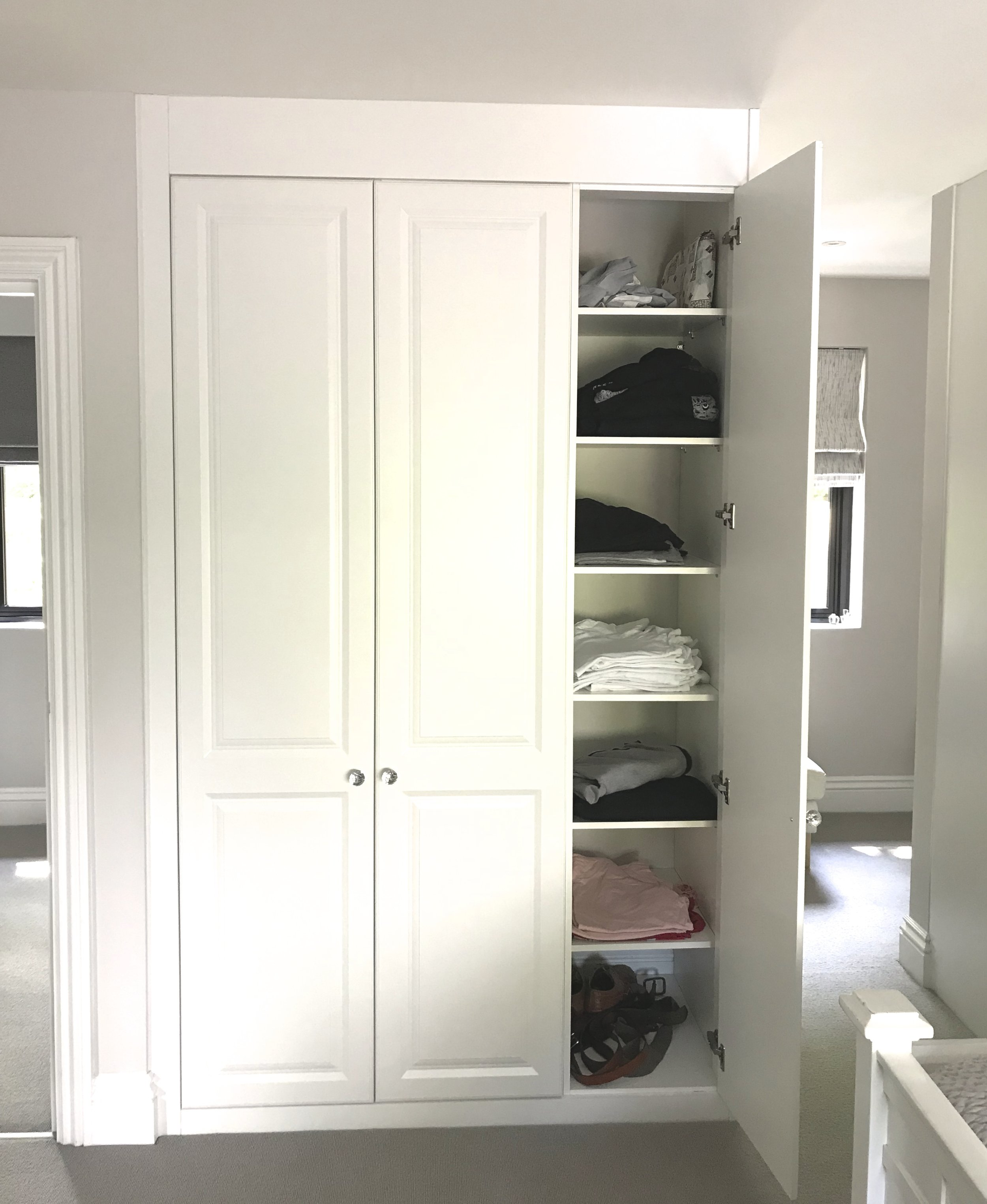 Floor to celling fitted wardrobes